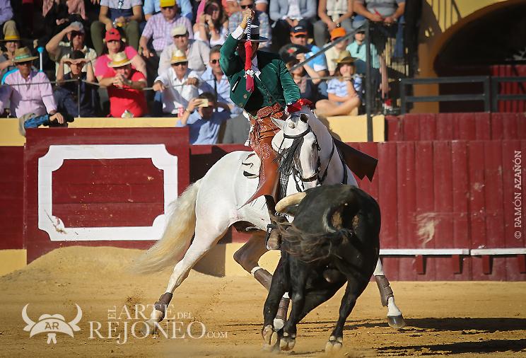 ©Ramón Azañón Fotogalería de la corrida celebrada en Osuna (13/05/2018) Andy Cartagena, Diego Ventura y Lea Vicens. Foto: Ramón Azañón