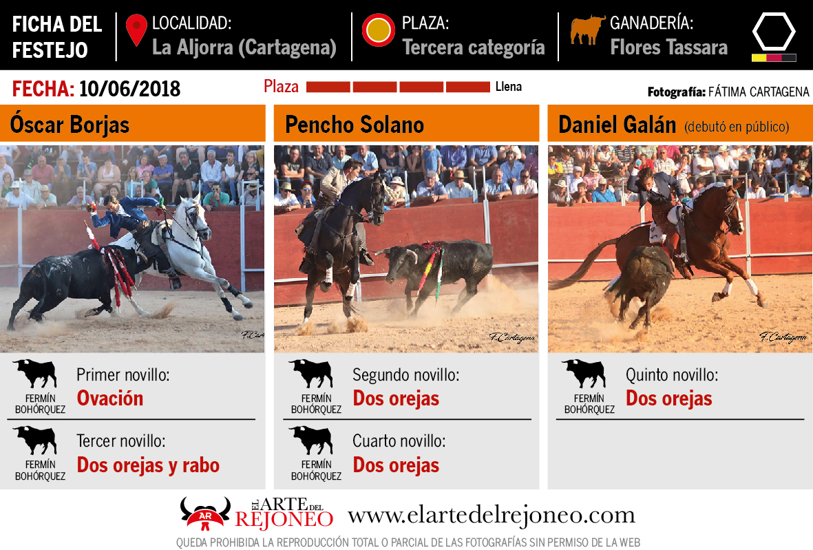 Web dedicada al apasionante mundo del toreo a caballo